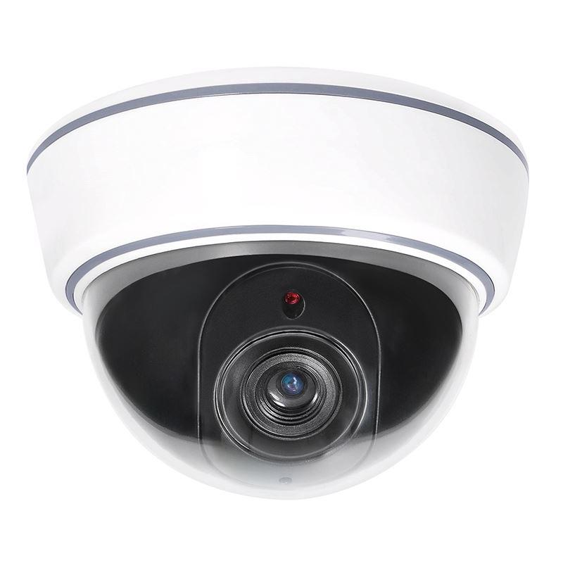 Solight maketa bezpečnostnej kamery, na strop, LED dióda, 3 x AA