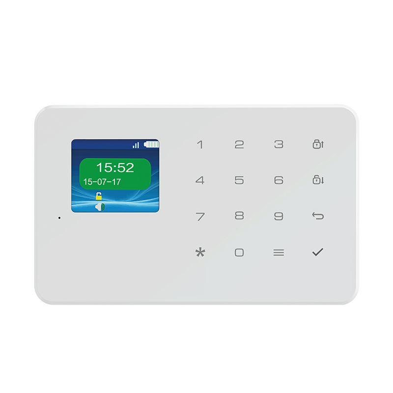 Solight GSM alarm set, ovládací panel, 2x diaľkové ovládanie, PIR čidlo, okenný/dverný senzor