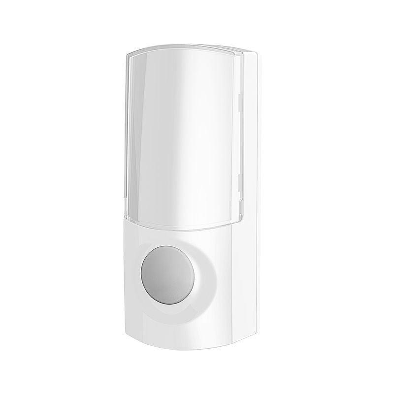 Solight bezdrôtové tlačidlo pre 1L60 a 1L61, 200m, biele, learning code, kryt na menovku