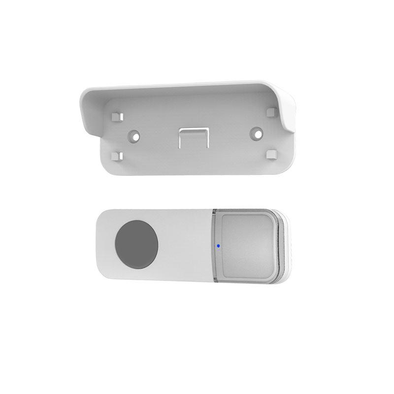 Solight bezdrôtové tlačidlo pre 1L67 sérii, 200m, biele, learning code, kryt na menovku