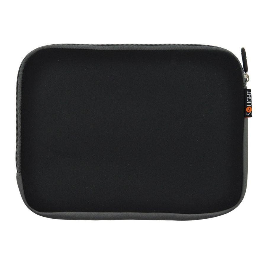 Solight neoprénové puzdro na tablet a e-čítačku, do 7 , čierne