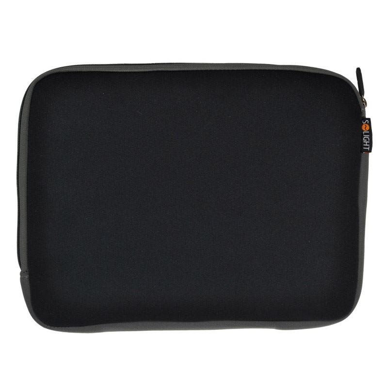 Solight neoprénové puzdro na notebook, čierne, 13 - 14,1