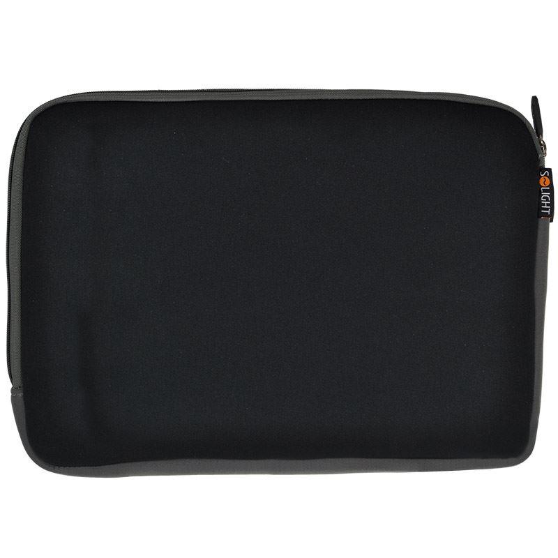 Solight neoprénové puzdro na notebook, čierne, 15 - 16