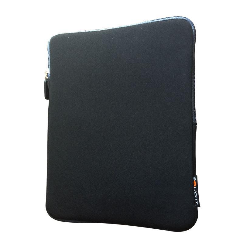Solight neoprénové puzdro na tablet 10 , nárazuvzdorné polstrovanie, čierne