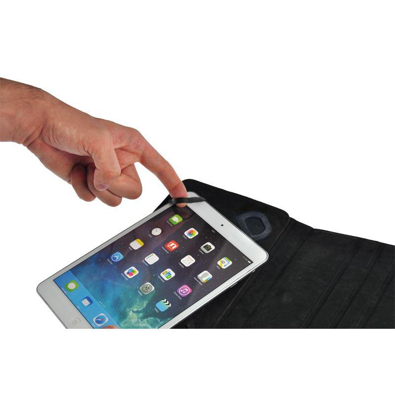Solight univerzálne puzdro - dosky, pogumovaný polyuretán, flexi úchytky, na tablet alebo čítačku 7 , čierna