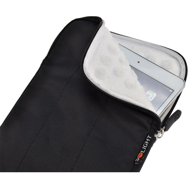 Solight nylónové puzdro na tablet, čítačku do 8 , širokouhlé, nárazuvzdorné polstrovanie, čierna