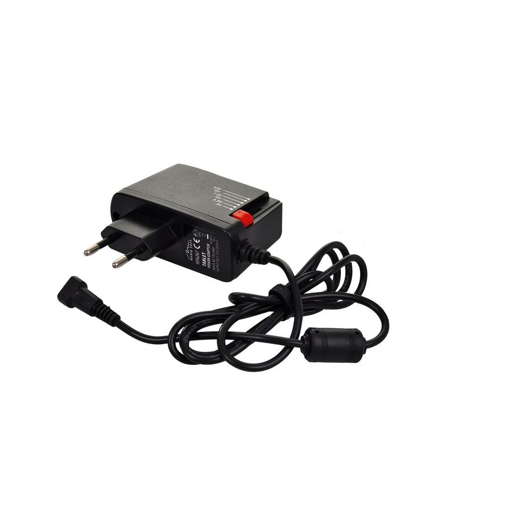 Solight univerzálny sieťový adaptér 1500mA, stabilizovaný, výmenné konektory