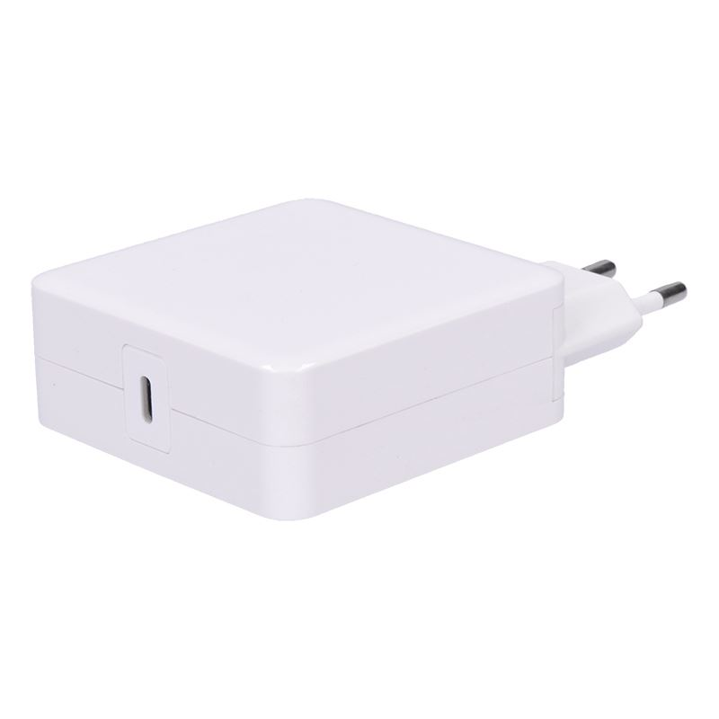 Solight nabíjačka notebooků typ USB-C, 65W, PD, biela
