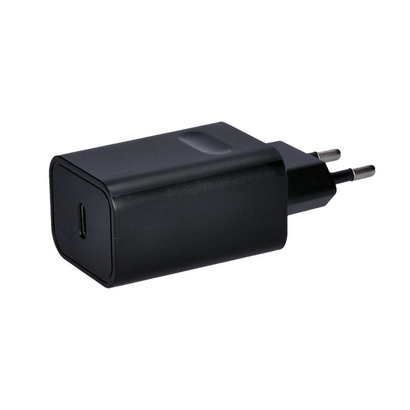 Solight USB nabíjací adaptér, 1x USB typ C, 5V-3A / 9V-2A / 15V-1,2A, 18W max.