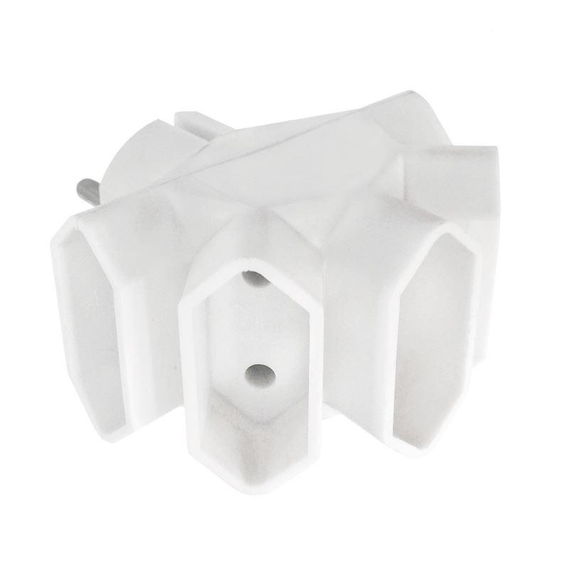 Solight rozbočovač, 5 x 2,5A, biely
