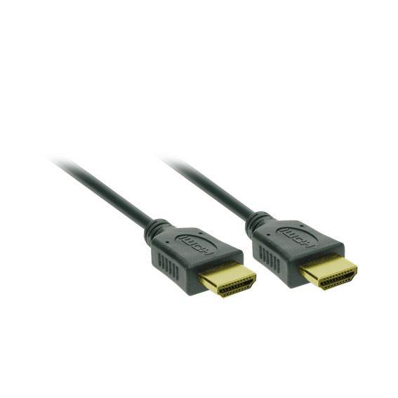 Solight HDMI kábel s Ethernetom, HDMI 1.4 A konektor - HDMI 1.4 A konektor, blister, 2m