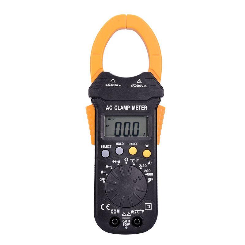 Solight kliešťový multimeter, max. AC 600V/600A, max. DC 600V, test diódy, bzučiak, odpor, teplota