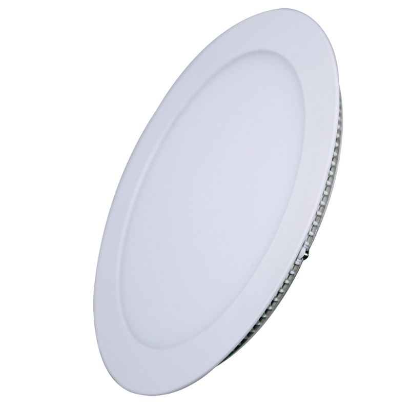 Solight LED mini panel, podhľadový, 12W, 900lm, 3000K, tenký, okrúhly, biely
