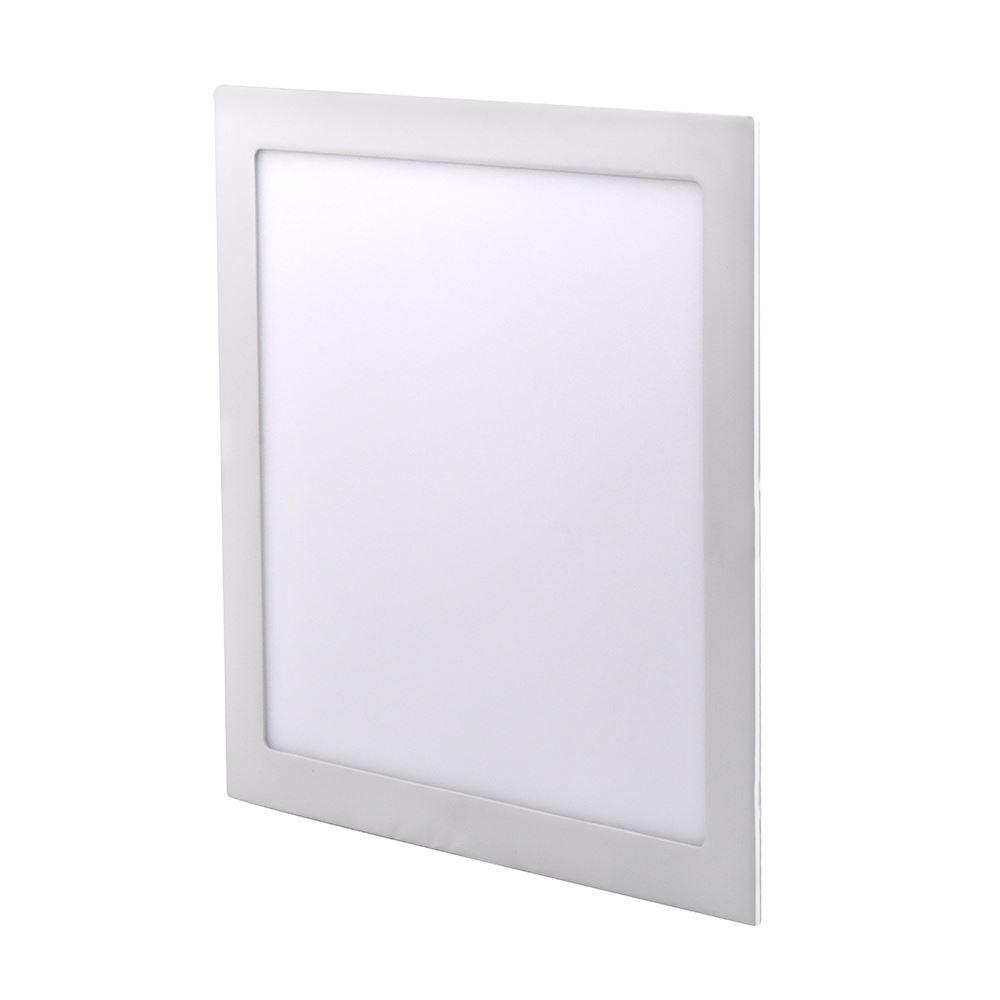 Solight LED mini panel, podhľadový, 24W, 1800lm, 4000K, tenký, štvorcový, biely