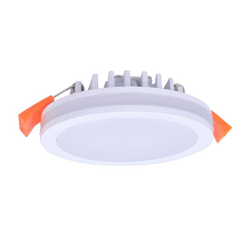 Solight LED podhľadové svietidlo, 6W, 420lm, 4000K, IP44, okrúhle