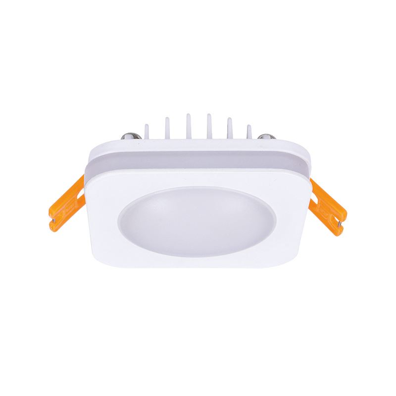 Solight LED podhľadové svietidlo, 6W, 420lm, 4000K, IP44, štvorcové