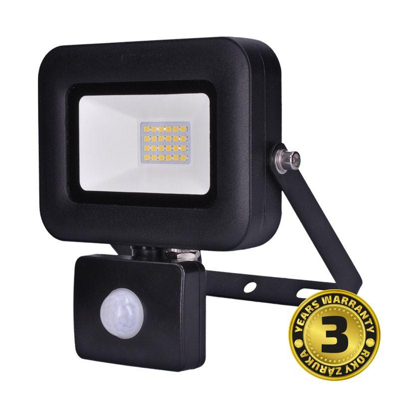 Solight LED reflektor PRO so senzorom, 20W, 1700lm, 5000K, IP44