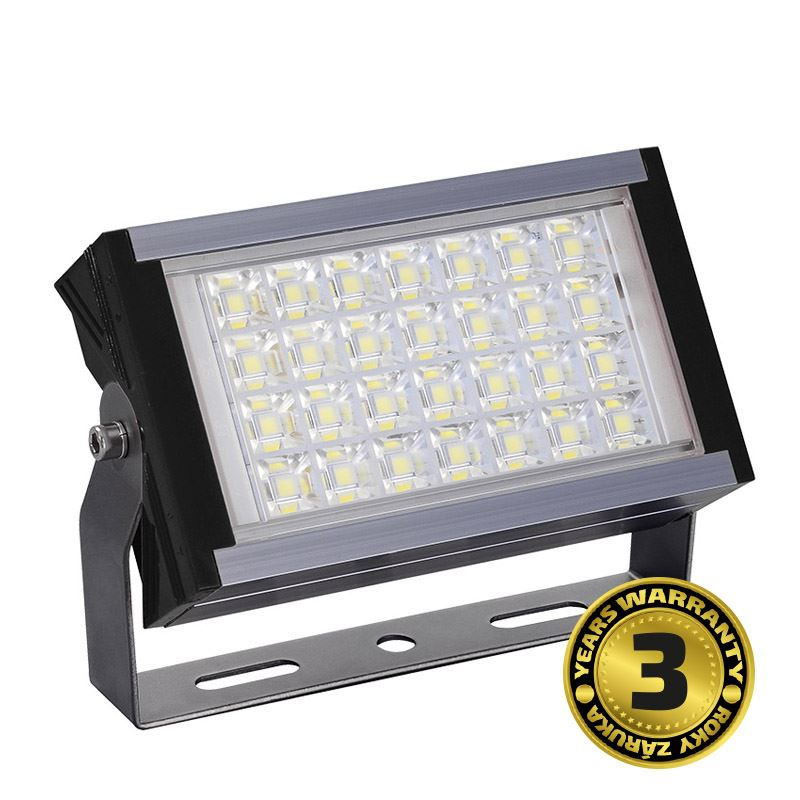 Solight LED vonkajší reflektor Pro+, 50W, 5500lm, AC 230V, čierna