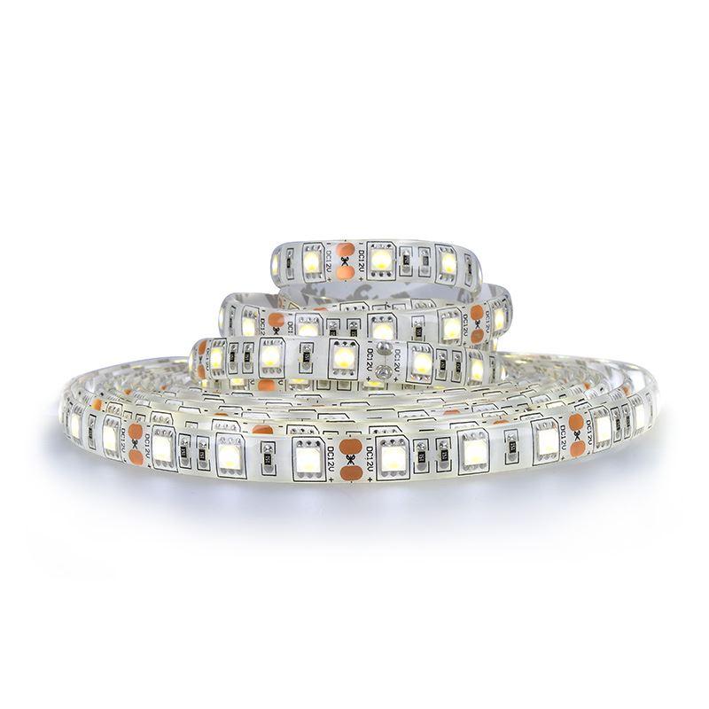 Solight LED svetelný pás, 5m, SMD5050 60LED/m, 14,4W/m, IP65, studená biela