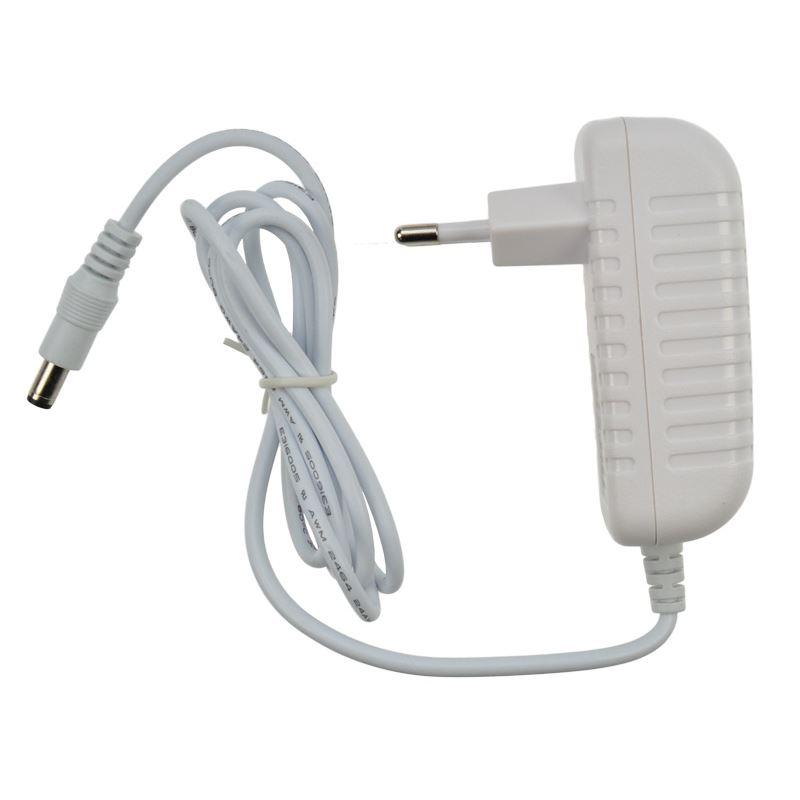 Solight sieťový adaptér pre LED pásiky, 230V - 12V, 2A, 24W, biela farba