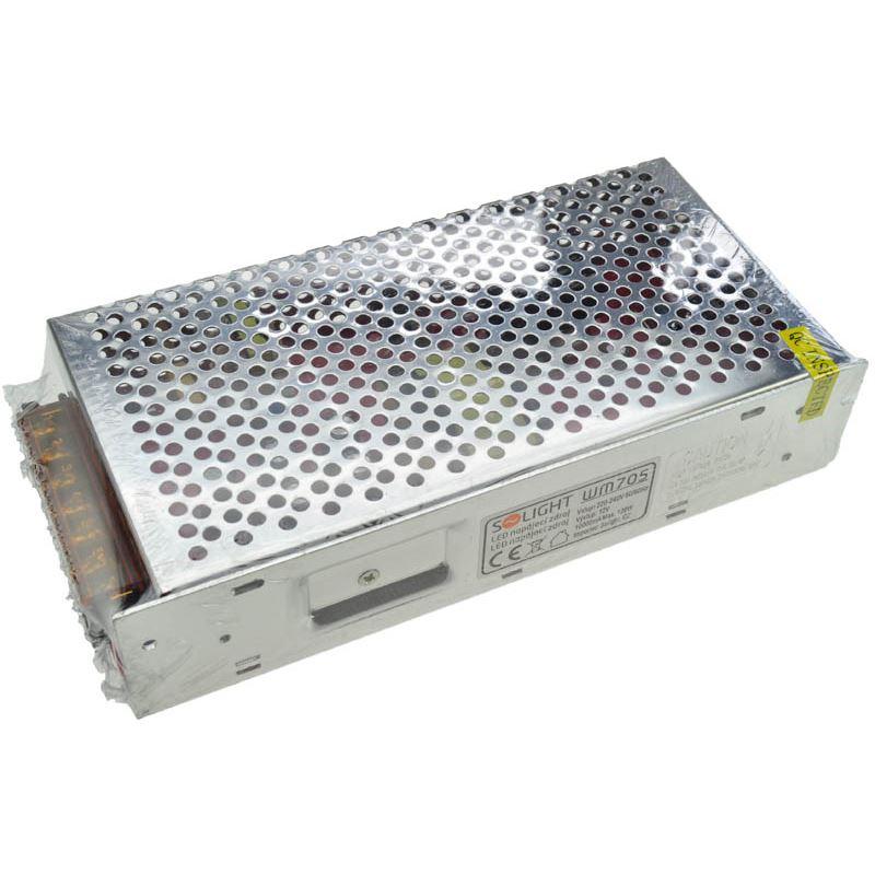 Solight LED napájací zdroj, 230V - 12V, 10A, 120W, IP20