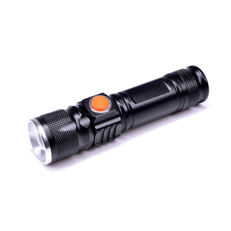 Solight LED vreckové nabíjacie svietidlo, 3W, 200lm, USB, Li-ion