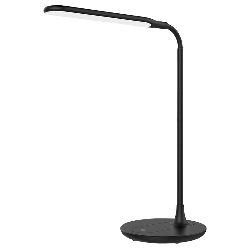 Solight LED stolná lampička stmievateľná, 6W, 4500K, čierna
