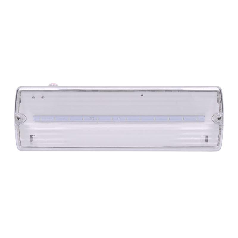 Solight LED núdzové osvetlenie, 6W, 270lm, IP65, LiFePO4 1500mAh batéria, autotest