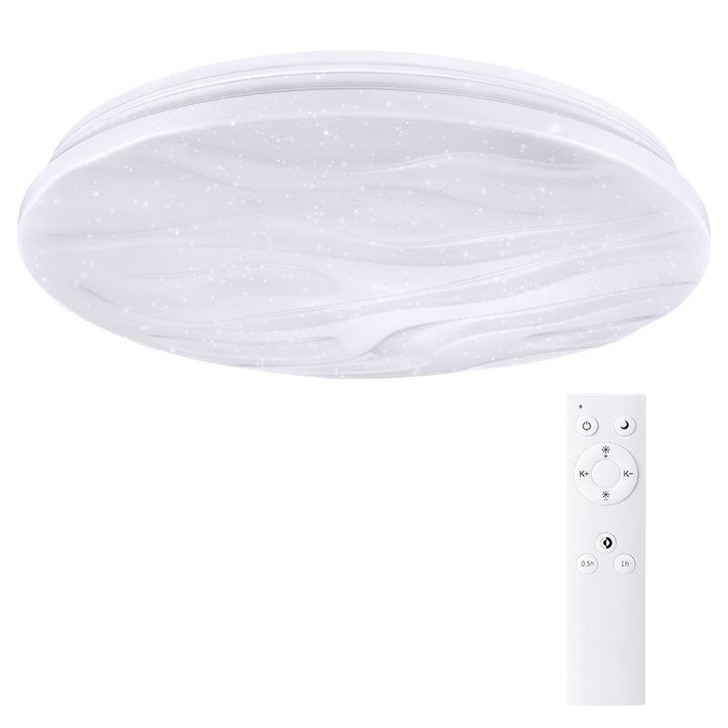 Solight LED stropné svetlo Wave, 60W, 4200lm, stmievateľné, zmena chromatičnosti, diaľkové ovládanie