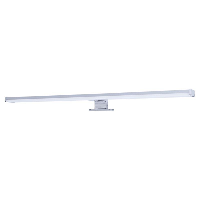 Solight LED kúpeľňové osvetlenie nad zrkadlo, 12W, 900lm, 4000K, IP44, 60cm, strieborné