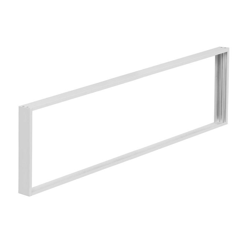 Solight hliníkový rám pre inštaláciu LED panelov s rozmerom 295x1195mm na stropy a steny