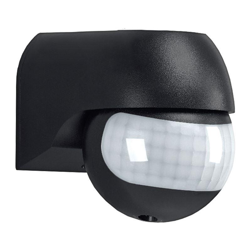 Solight PIR senzor nástenný, vonkajší, čierny