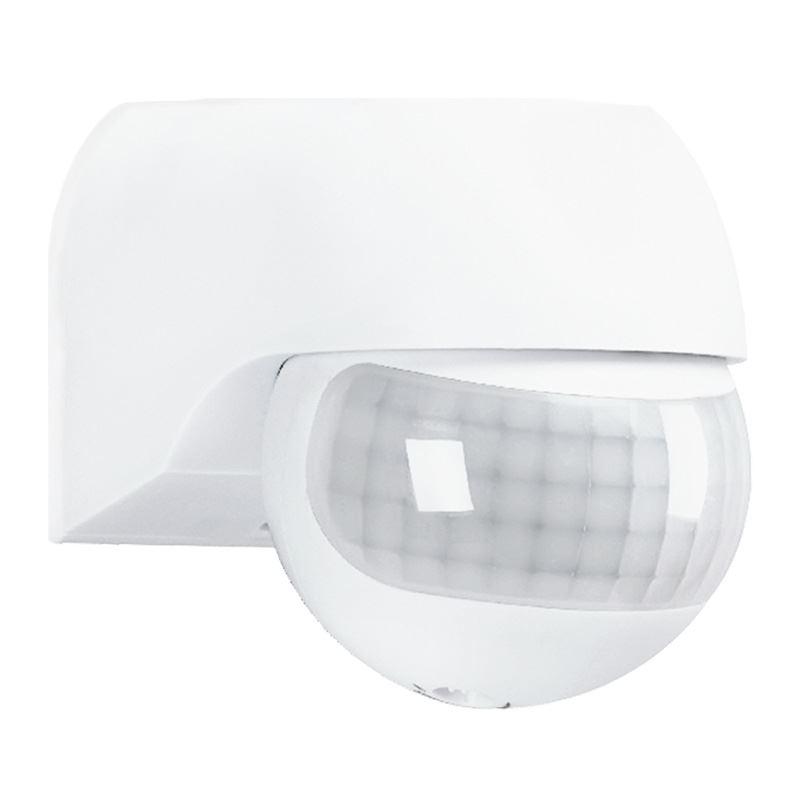 Solight PIR senzor nástenný, vonkajší, biely